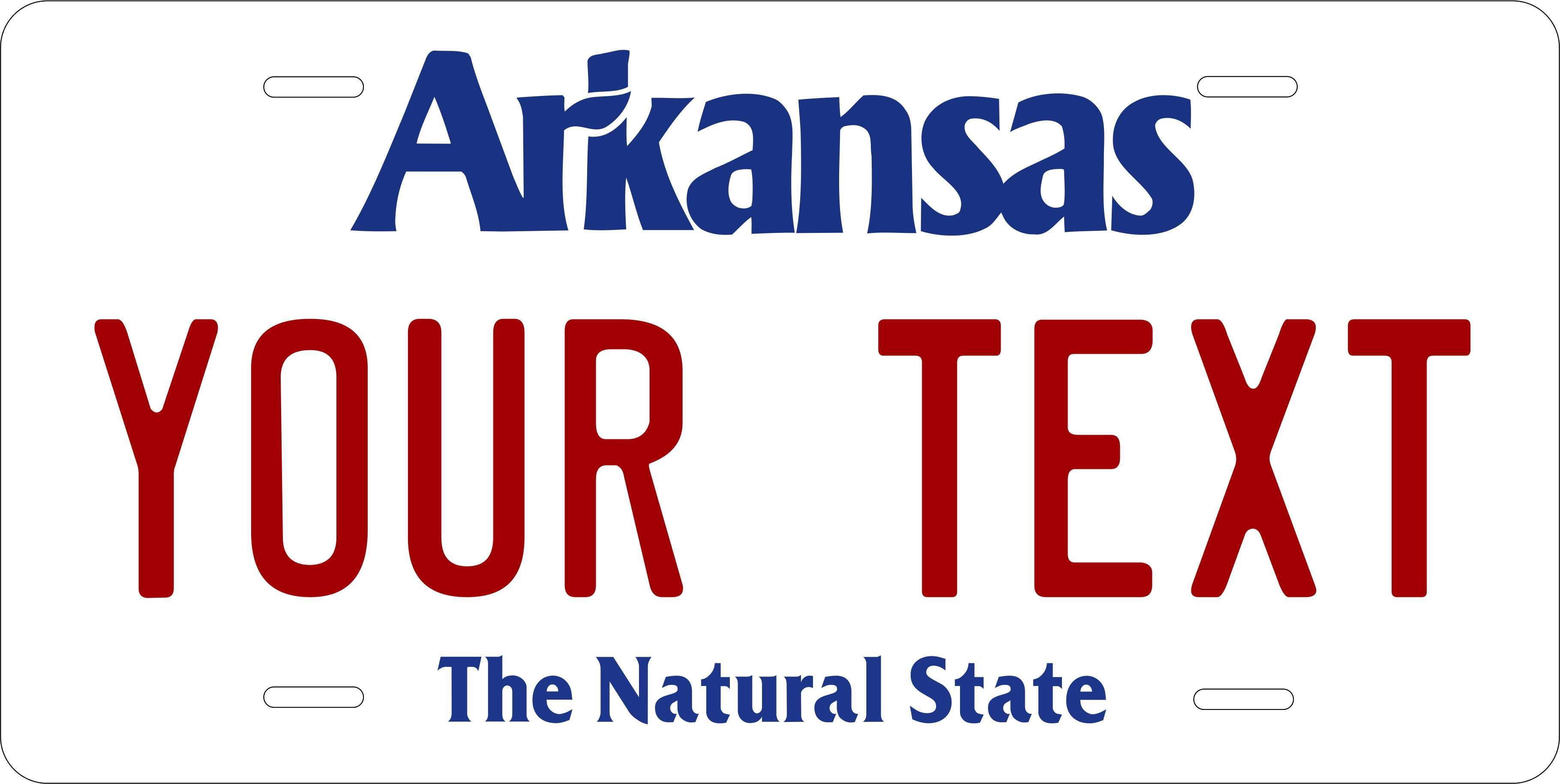 Arkansas  Day Car Tags