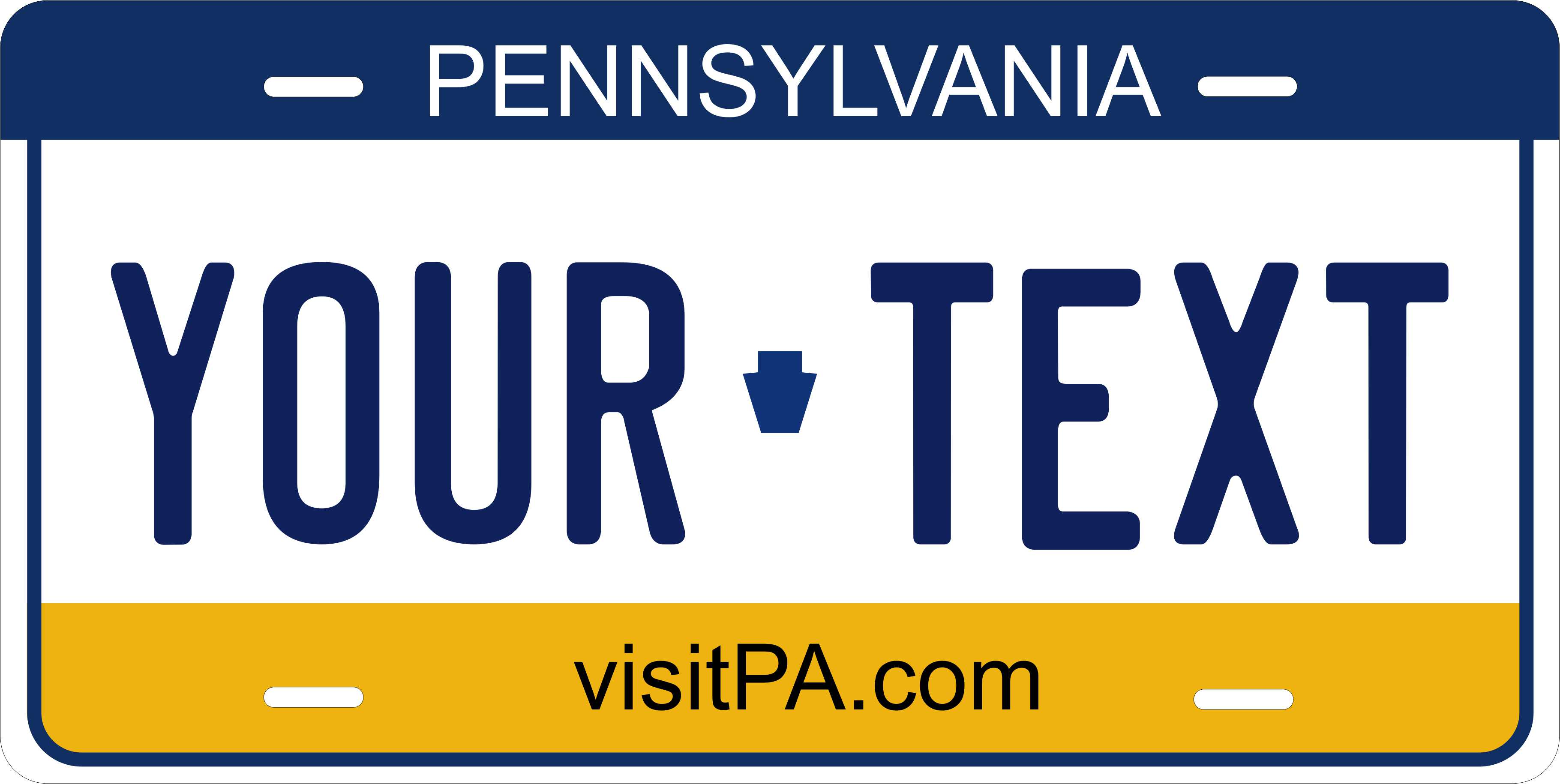 Pennsylvania 1977 License Plate Personalized Auto Car Custom VEHICLE OR MOPED